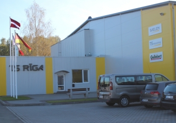 Official opening of the new production premises of TS Rīga