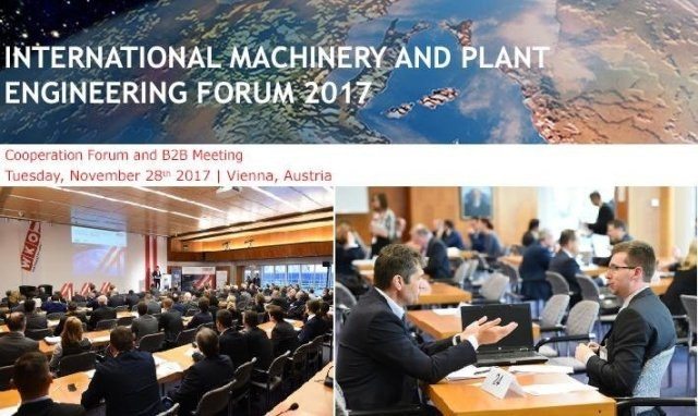 International Machinery and Plant Engineering Forum 2017