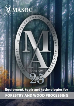 MASOC latest catalogue Equipment tools and technologies for forestry and wood processing